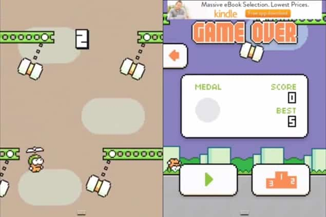 Download & Play Swing copter on PC windows xp/vista/7/8/8.1 MAC