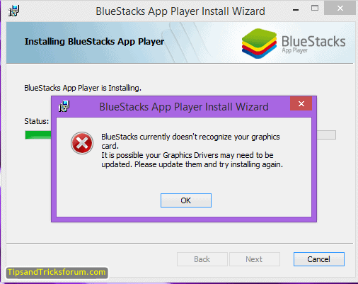 How to Resolve Bluestacks Graphic Card error 25000 Fixed : 100% working