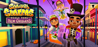 Download Subway Surfers For Java mobile phones Nokia 5130/LG/S40 Free
