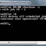 How to Shut Down my PC/Laptop with Timer using Command Prompt
