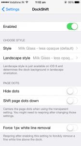 Jailbreak Tweak to change the Background of Iphone Dock | Enhance your Iphone Dock