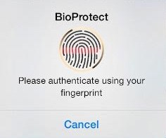 How to protect your apps in ios 8 using Touch Id of iphone 6 / iphone 5s