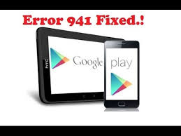 How to Fix/resolve Error 941 Google play store While downloading Apps