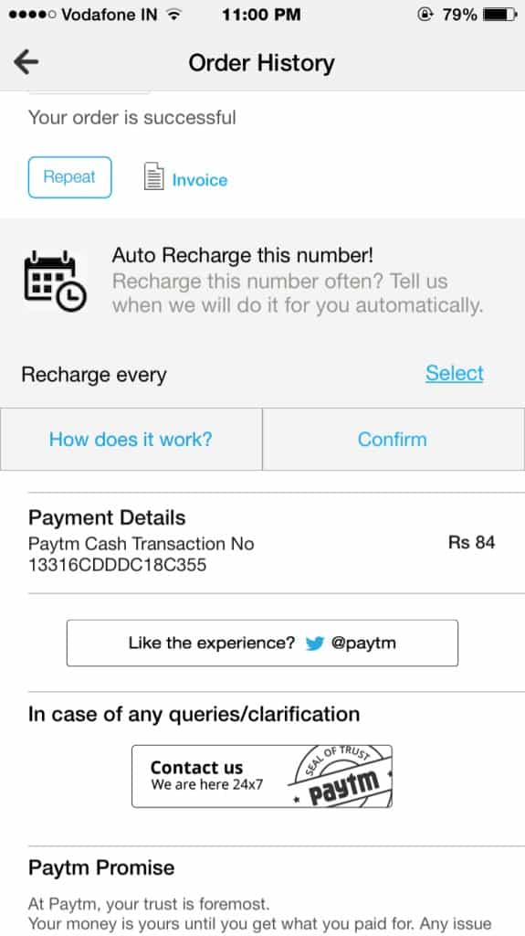 automatically recharge your number after a specific interval